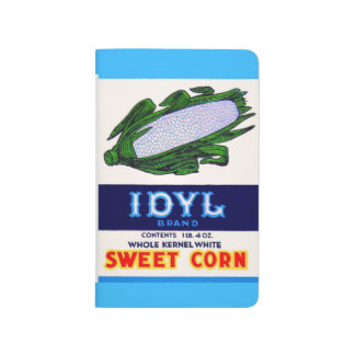 1930s Idyl Sweet Corn label print Journal