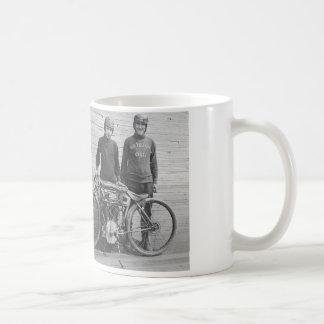 1930's Motorcycle Racer Mug