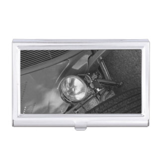 1930's Roadster Grayscale Case For Business Cards