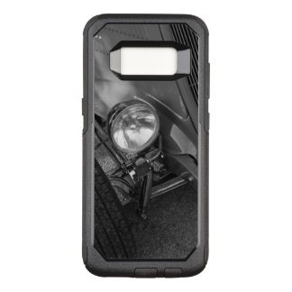 1930's Roadster Grayscale OtterBox Commuter Samsung Galaxy S8 Case