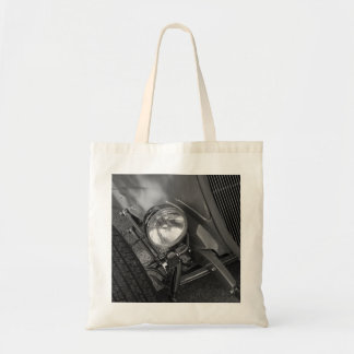 1930's Roadster Grayscale Tote Bag