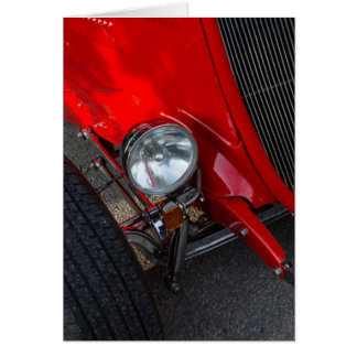 1930's Roadster Note Card
