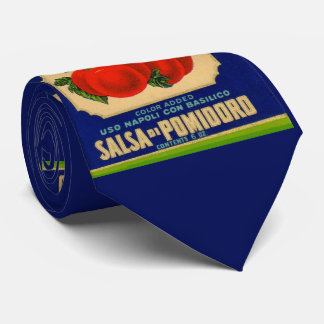 1930s Rosinella tomato sauce can label no. 1 print Tie