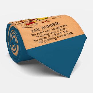 1930s vinegar valentine Tax Dodger Tie
