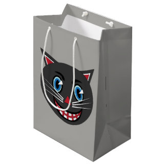 1930's Vintage Black Cat Bold Gift Bags