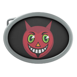 1930's Vintage Devil Belt Buckle