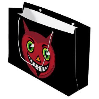 1930's Vintage Devil  Large Gift Bag