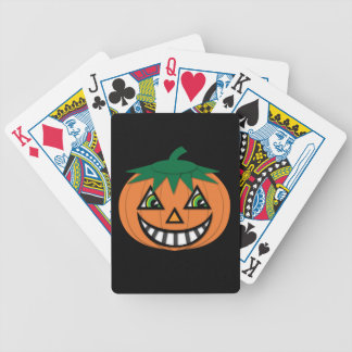 1930's Vintage Jack-O-Lantern Playing Cards