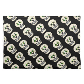 1930's Vintage Skull Placemats