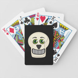 1930's Vintage Skull Playing Cards