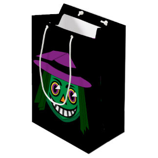 1930's Vintage Witch Bold Gift Bags