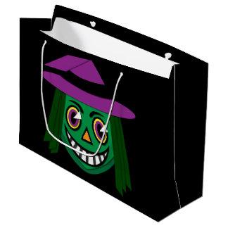 1930's Vintage Witch Large Gift Bag