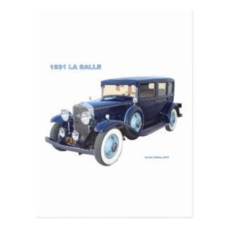 1931 CADILLAC LA SALLE POSTCARD