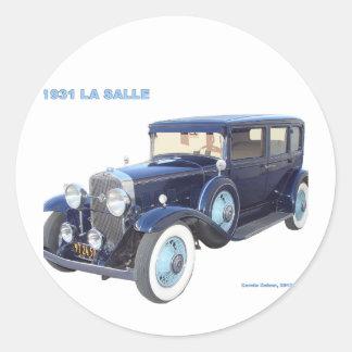 1931 CADILLAC LA SALLE STICKERS