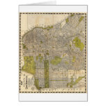 1932 Candrain Map of San Francisco California Card