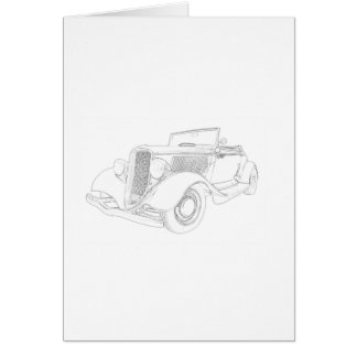 1932 Ford Card