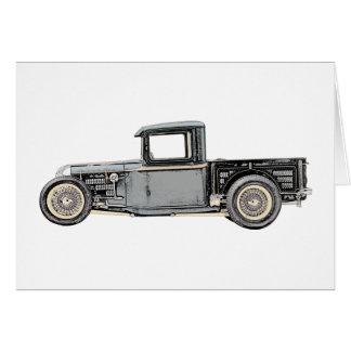 1932 Ford Custom Pickup Truck - RatRod Card
