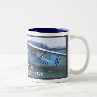 1932 Granger Archaeopteryx airplane Two-Tone Coffee Mug