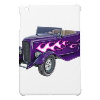 1932 Purple Roadster with Flame iPad Mini Cover