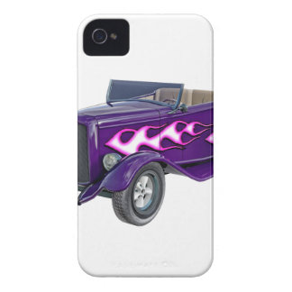 1932 Purple Roadster with Flame iPhone 4 Case-Mate Case