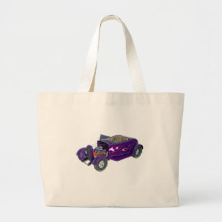 1932 Roadster with Engine Displayed Large Tote Bag