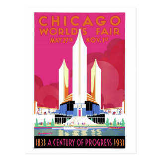 1933 Chicago World's Fair #2 Postcard