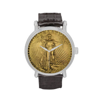 1933 Liberty Gold Coin Collector Numismatist Wristwatches