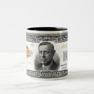1934 100 Thousand Dollars Gold Certificate Mug