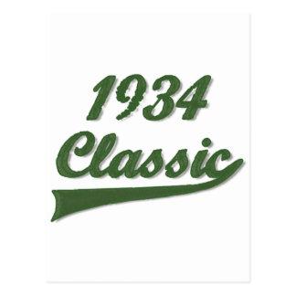 1934 Classic Postcard