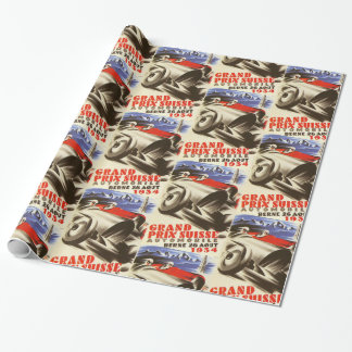 1934 Grand Prix Suisse Wrapping Paper