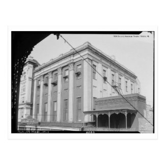 1934 Second American Theater, Mobile, AL Postcard