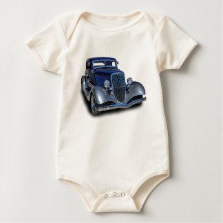 1934 VINTAGE CAR BABY BODYSUIT