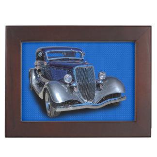 1934 VINTAGE CAR KEEPSAKE BOX