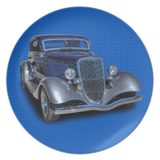 1934 VINTAGE CAR PLATE