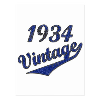1934 Vintage Postcard