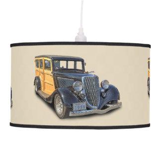 1934 VINTAGE WOODIE PENDANT LAMP