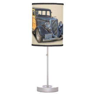 1934 VINTAGE WOODIE TABLE LAMP
