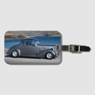 1935 Chevy Master Coupe Hot Rod Scenic Lake Luggage Tag