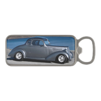 1935 Chevy Master Coupe Hot Rod Scenic Lake Magnetic Bottle Opener