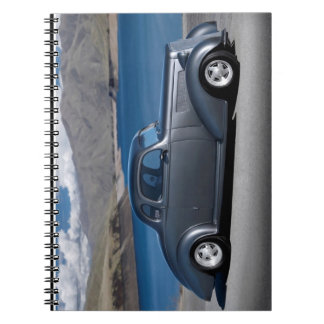 1935 Chevy Master Coupe Hot Rod Scenic Lake Notebook