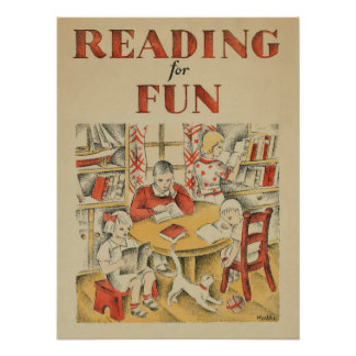 1935 Children's Book Week Poster