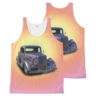 1935 VINTAGE PICKUP All-Over-Print TANK TOP