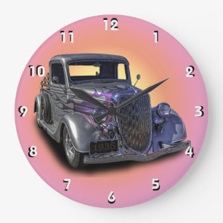1935 VINTAGE PICKUP LARGE CLOCK