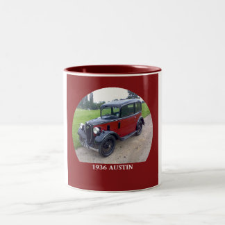 1936 Austin 7 Ruby Two-Tone Coffee Mug