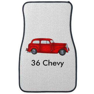1936 Chevrolet 2 Door Sedan Car Mat