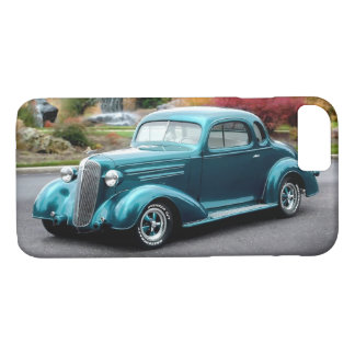 1936 Chevy Hot Rod Coupe Chevrolet Classic Car iPhone 8/7 Case