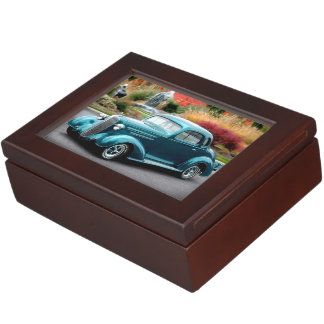 1936 Chevy Hot Rod Coupe Chevrolet Classic Car Keepsake Box