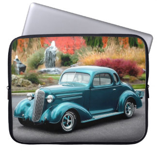 1936 Chevy Hot Rod Coupe Chevrolet Classic Car Laptop Sleeve