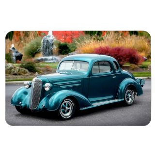 1936 Chevy Hot Rod Coupe Chevrolet Classic Car Magnet