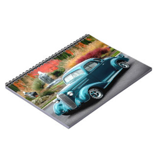 1936 Chevy Hot Rod Coupe Chevrolet Classic Car Notebook